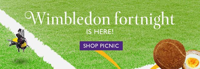 Wimbledon Fortnight is here! SHOP PICNIC